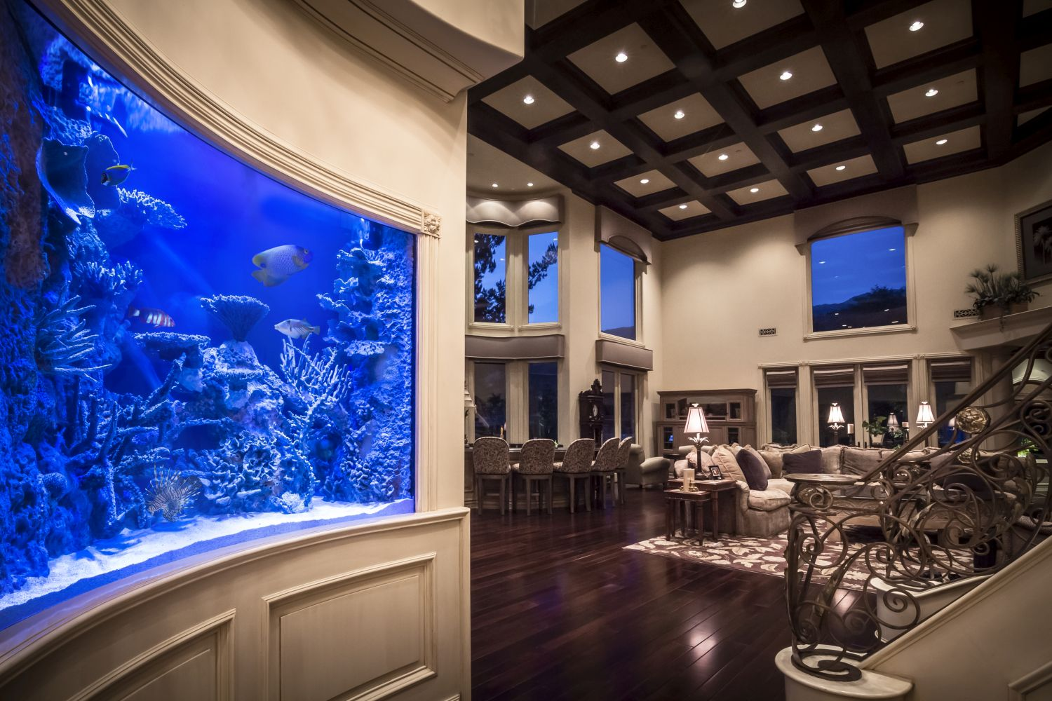 Residential Custom Aquariums